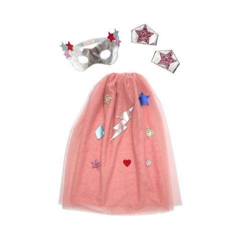 Superhero Dress Up Set by Meri Meri, available at Bobby Rabbit.