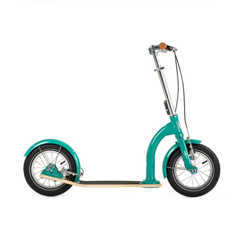 SwiftyIXI Children's Scooter in aqua green, available at Bobby Rabbit.
