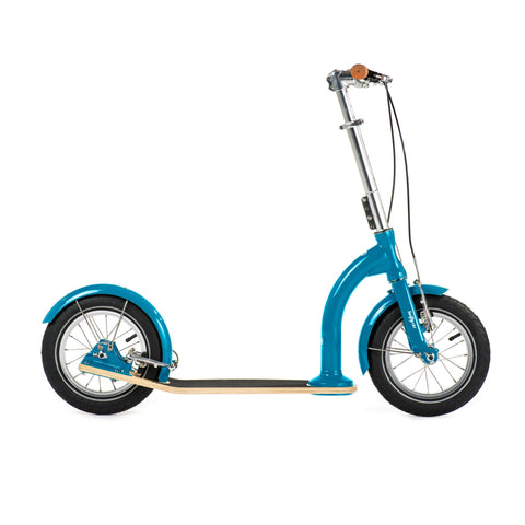 SwiftyIXI Children's Scooter in hero blue, available at Bobby Rabbit.