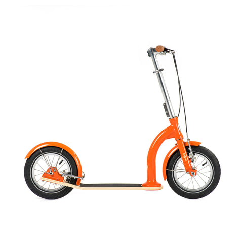 SwiftyIXI Children's Scooter in vibrant orange, available at Bobby Rabbit.