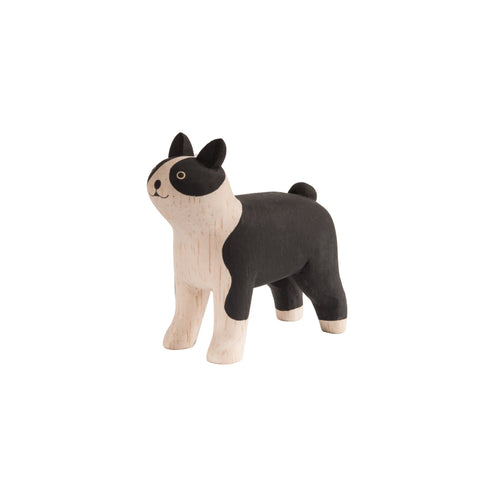 T-Lab 'Pole Pole' Wooden Boston Terrier, available at Bobby Rabbit.