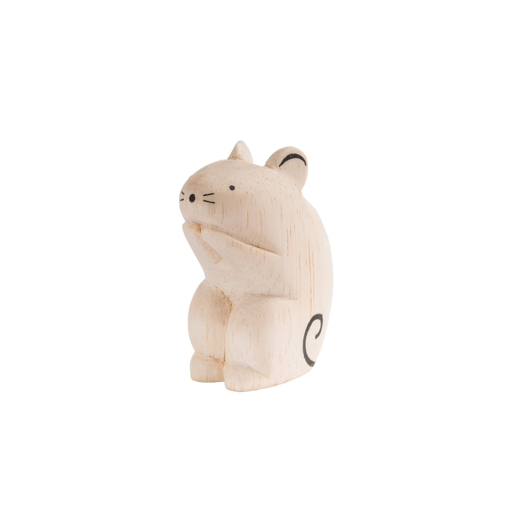 T-Lab 'Pole Pole' Wooden Mouse, available at Bobby Rabbit.