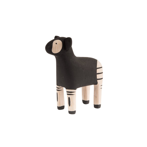 T-Lab 'Pole Pole' Wooden Okapi, available at Bobby Rabbit.