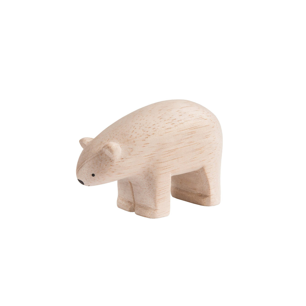 T-Lab 'Pole Pole' Wooden Polar Bear, available at Bobby Rabbit.