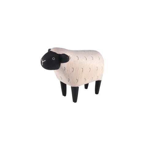 T-Lab 'Pole Pole' Wooden Sheep, available at Bobby Rabbit.