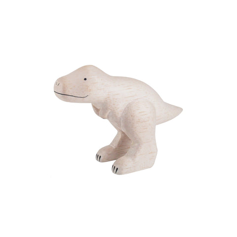 T-Lab 'Pole Pole' Wooden T Rex, available at Bobby Rabbit.
