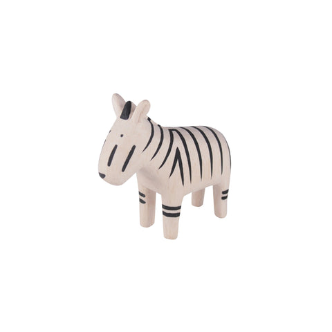 T-Lab 'Pole Pole' Wooden Zebra, available at Bobby Rabbit.