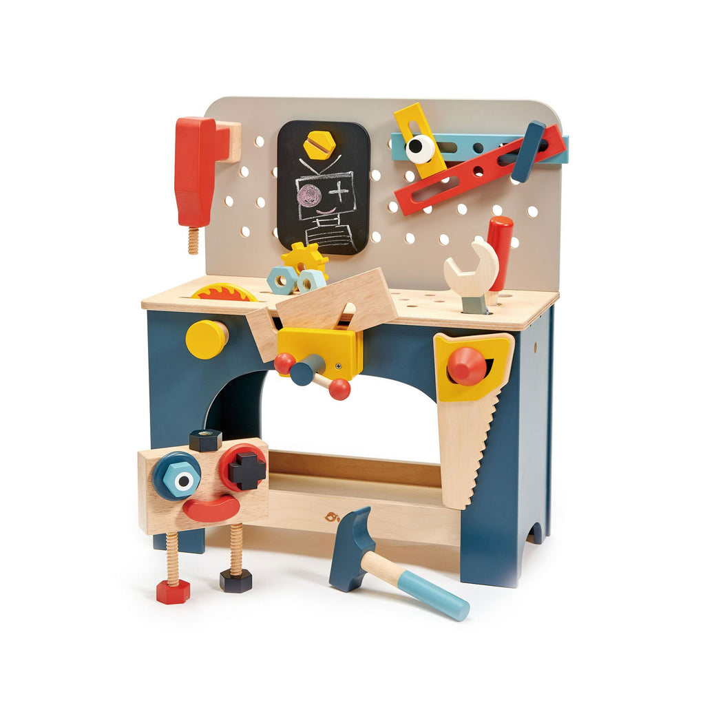 Table Top Tool Bench by Tender Leaf Toys, available at Bobby Rabbit.