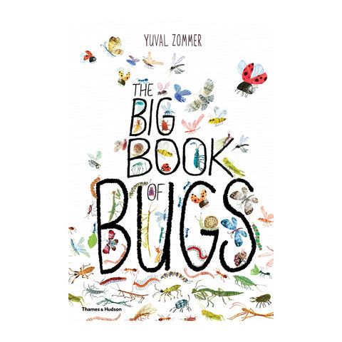 The Big Book of Bugs by Yuval Zommer, available at Bobby Rabbit.