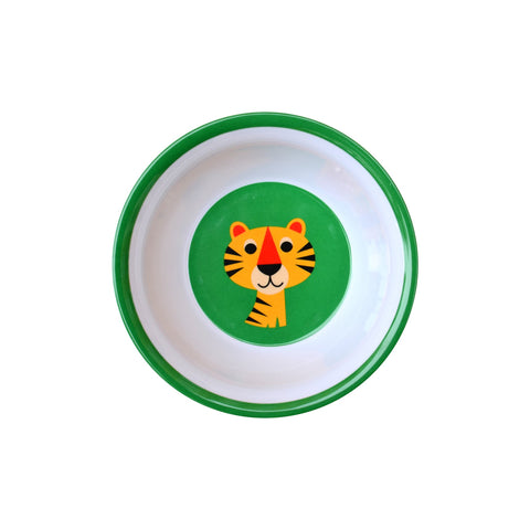Melamine Tiger Bowl, designed by Ingela P. Arrhenius for OMM Design and available at Bobby Rabbit.