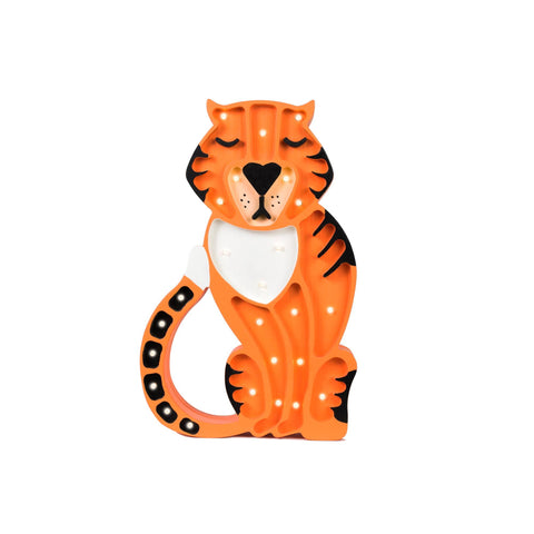 Tiger Lamp by Little Lights, available at Bobby Rabbit.
