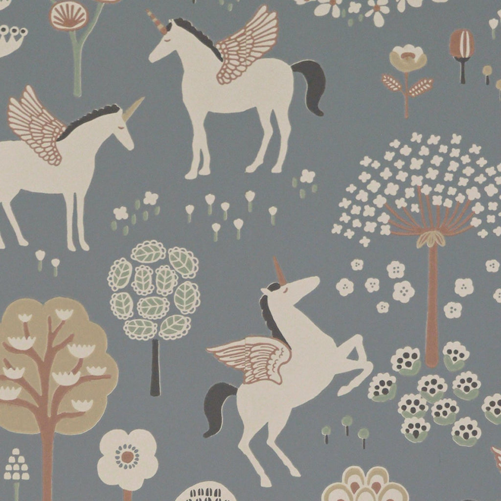 True Unicorns Wallpaper by Majvillan, available at Bobby Rabbit.