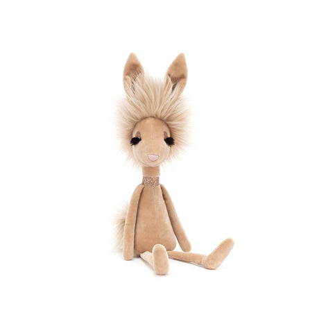 Swellegant Vivien Hare Soft Toy, designed and made by Jellycat and available at Bobby Rabbit.