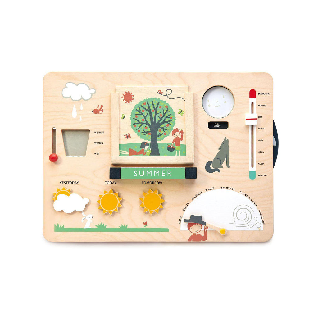 Weather Watch Wooden Toy by Tender Leaf Toys, available at Bobby Rabbit.