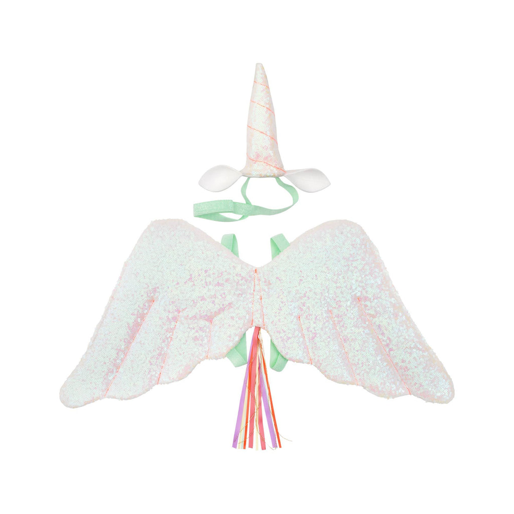 Winged Unicorn Dress Up Set by Meri Meri, available at Bobby Rabbit.