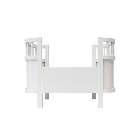 Dolls Bed - Classic White by Sebra, available at Bobby Rabbit.
