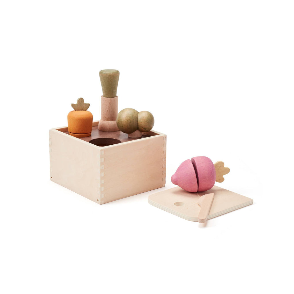 Wooden Plant Box by Kids Concept, available at Bobby Rabbit.