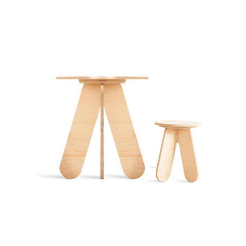 Wooden Play Table by Babai Toys, available at Bobby Rabbit.