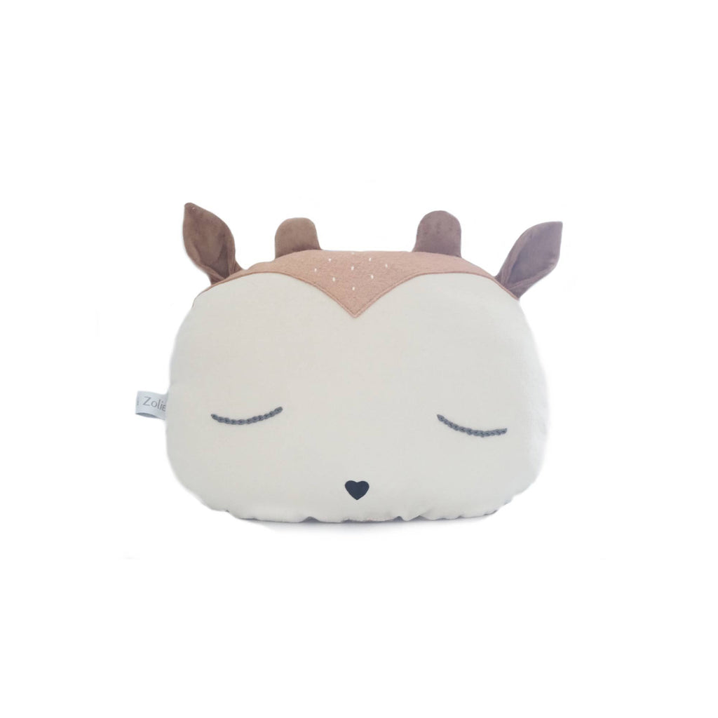 Woodland Fawn Animal Cushion by Caro & Zolie, available at Bobby Rabbit.