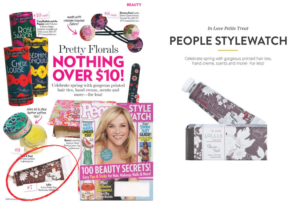 People Magazine featuring In Love Petite Treat