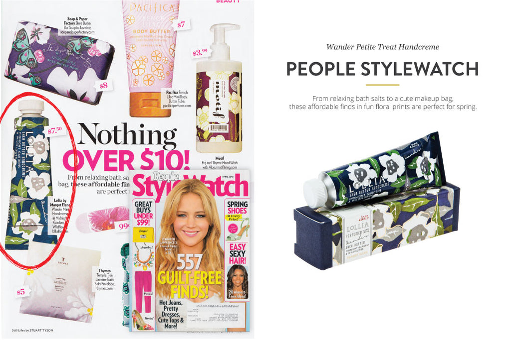 People StyleWatch Wander Petite Treat Handcreme