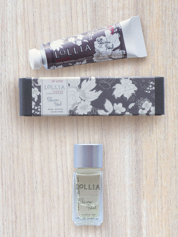 In Love Mini Duo | Petite Hand Cream & Little Luxe Perfume | Lollia