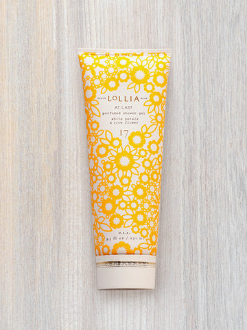 At Last Perfumed Shower Gel | Lollia