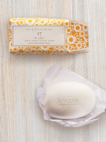 At Last Shea Butter Soap