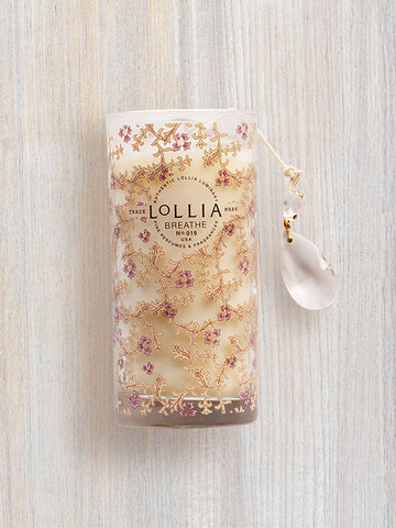 Breathe Scented Luminary Candle | Lollia