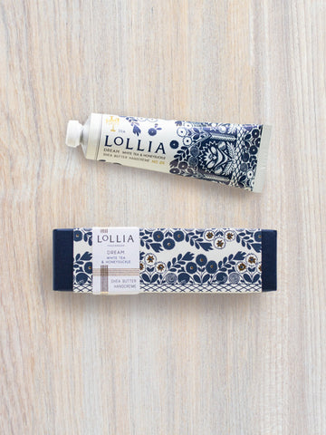 Dream Travel-Size Shea Butter Hand Cream | Lollia