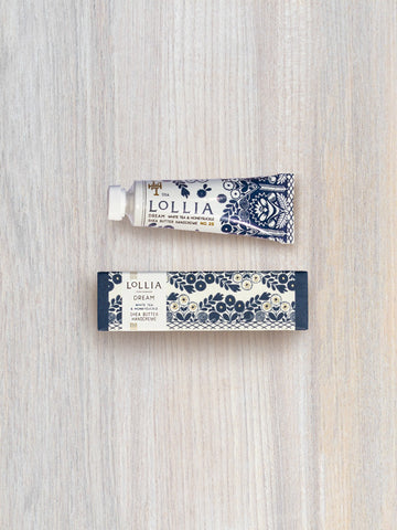 Dream Perfumed Petite Treat Shea Butter Hand Cream | Lollia
