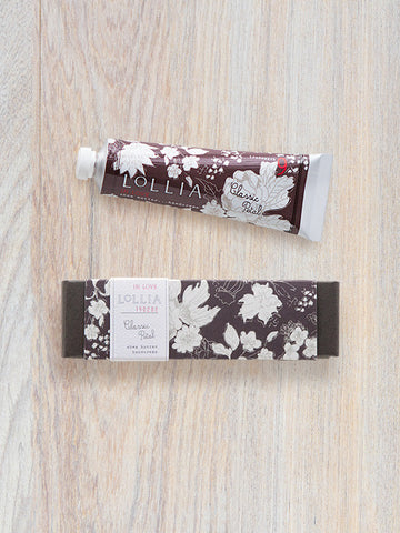 In Love Perfumed Travel-Size Shea Butter Hand Cream | Lollia