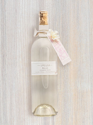 Relax Perfumed Luxury Bubble Bath | Lollia