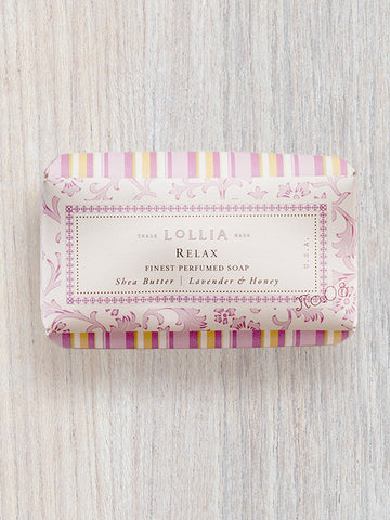 Relax Perfumed Shea Butter Soap | Lollia