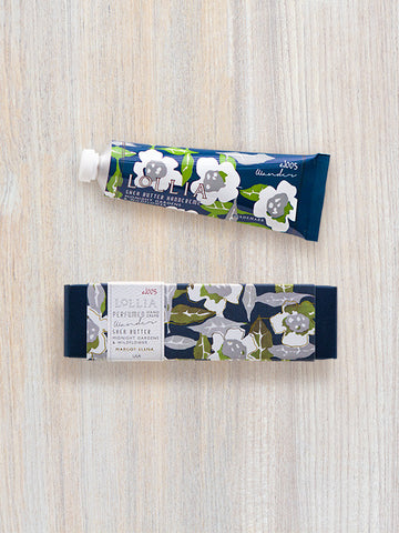 Wander Travel-Size Shea Butter Hand Cream | Lollia