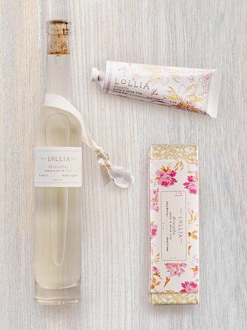 Breathe Duo | Perfumed Bubble Bath & Shea Butter Hand Cream | Lollia