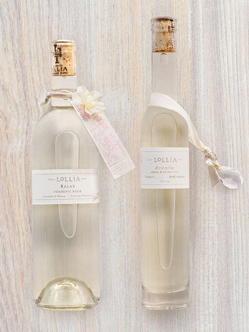 Relax & Breathe Perfumed Luxury Bubble Bath Duo| Lollia