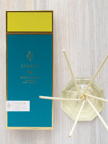 I Can Still Smell the Rain Home Fragrance Reed Diffuser | Lollia