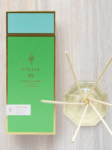 Running in the Grass Barefoot Scented Reed Diffuser | Lollia