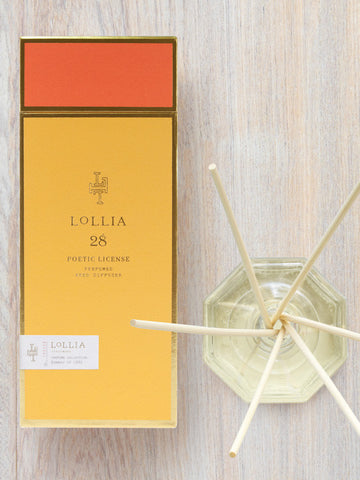 Summer of 1982 Poetic License Home Fragrance Reed Diffuser | Lollia