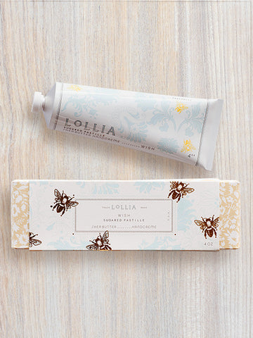 Wish Perfumed Shea Butter Hand Cream | Lollia