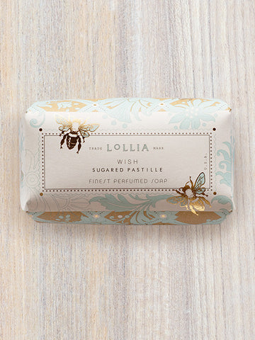 Wish Perfumed luxury Shea Butter Bar Soap | Lollia