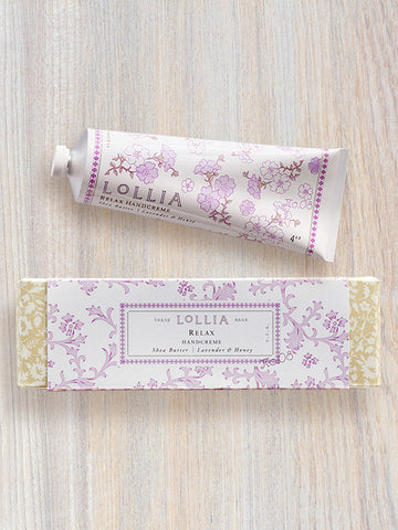 Relax Perfumed Shea Butter Hand Cream | Lollia