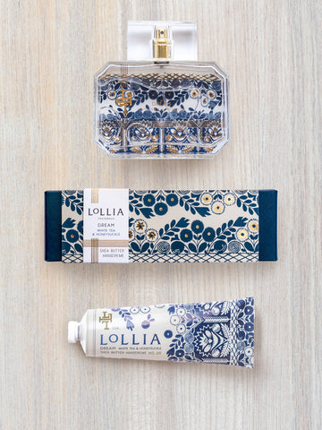 Dream Duo | Luxury Perfume & Shea Butter Hand Cream | Lollia