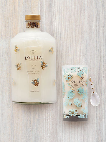 Wish Scented Luminary Candle | Lollia