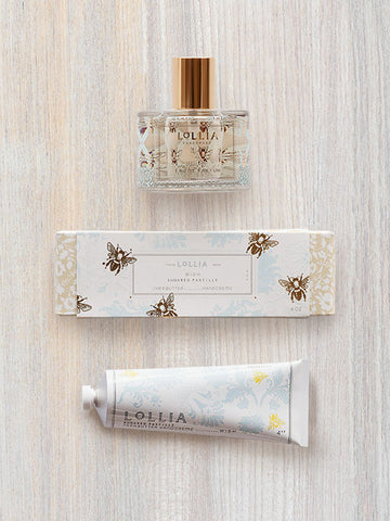 Wish Duo | Shea Butter Hand Cream & Perfume | Lollia