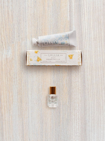 Wish Duo Minis | Shea Butter Hand Cream & Little Luxe Perfume | Lollia