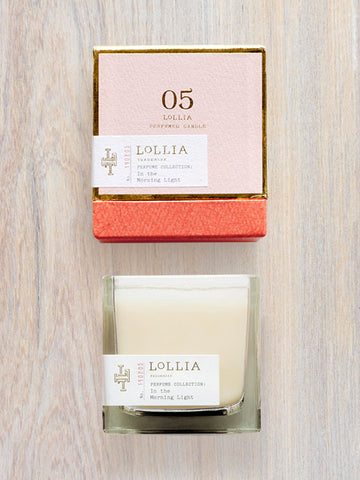 In The Morning Light Scented Poetic License Candle | Lollia