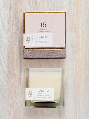 Another Quiet Day Scented Poetic License Candle | Lollia