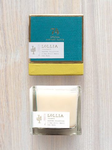 I Can Still Smell The Rain Scented Poetic License Candle | Lollia